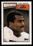 1987 Topps #91  Chip Banks  Front Thumbnail
