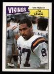 1987 Topps #203  Leo Lewis  Front Thumbnail