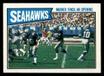 1987 Topps #172   Seahawks Leaders Front Thumbnail