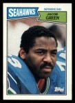 1987 Topps #180  Jacob Green  Front Thumbnail