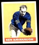 1948 Leaf #23 YEL Ken Kavanaugh  Front Thumbnail