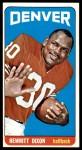 1965 Topps #50  Hewritt Dixon  Front Thumbnail