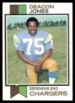 1973 Topps #38  Deacon  Jones  Front Thumbnail