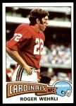 1975 Topps #403  Roger Wehrli  Front Thumbnail