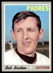 1970 Topps #352  Bob Barton  Front Thumbnail