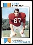 1973 Topps #352  Larry Stallings  Front Thumbnail
