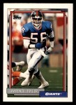 1992 Topps #756  Lawrence Taylor  Front Thumbnail
