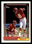 1992 Topps #90  Nick Lowery  Front Thumbnail