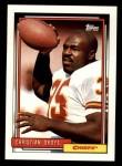 1992 Topps #395  Christian Okoye  Front Thumbnail