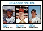 1973 Topps #608   -  Steve Busby / Doc Medich / Dick Colpaert Rookie Pitchers Front Thumbnail