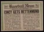 1974 Topps Traded #585 T  -  Merv Rettenmund Traded Back Thumbnail