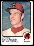 1973 Topps #523  Wayne Granger  Front Thumbnail