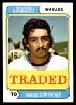 1974 Topps Traded #649 T  -  Fernando Gonzalez Traded Front Thumbnail