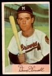 1954 Bowman #160  Danny OConnell  Front Thumbnail