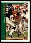 1997 Topps #160  Derrick Thomas  Front Thumbnail