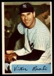 1954 Bowman #33 TR Vic Raschi  Front Thumbnail