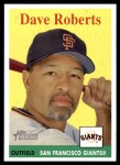 2007 Topps Heritage #38  Dave Roberts  Front Thumbnail
