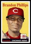 2007 Topps Heritage #205  Brandon Phillips  Front Thumbnail