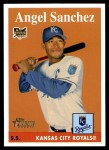2007 Topps Heritage #302  Angel Sanchez  Front Thumbnail