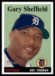 2007 Topps Heritage #350  Gary Sheffield  Front Thumbnail