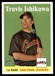 2007 Topps Heritage #468  Travis Ishikawa  Front Thumbnail