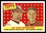 2007 Topps Heritage #475   -  Ozzie Guillen / Phil Garner All-Star Front Thumbnail