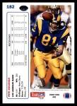 1991 Upper Deck #182  Pete Holohan  Back Thumbnail