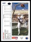 1991 Upper Deck #197  Rohn Stark  Back Thumbnail