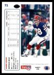 1991 Upper Deck #71  Mark Kelso  Back Thumbnail