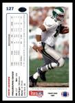 1991 Upper Deck #127  Keith Jackson  Back Thumbnail