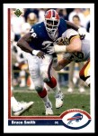 1991 Upper Deck #174  Bruce Smith  Front Thumbnail