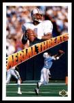1991 Upper Deck #33  Warren Moon / Drew Hill  Front Thumbnail