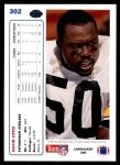 1991 Upper Deck #302  David Little  Back Thumbnail