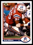 1991 Upper Deck #268  Brent Williams  Front Thumbnail