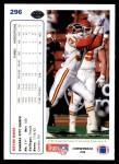1991 Upper Deck #296  Kevin Ross  Back Thumbnail