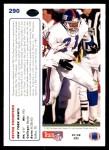 1991 Upper Deck #290  Reyna Thompson  Back Thumbnail