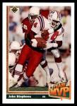 1991 Upper Deck #467   -  John Stephens Team MVP Front Thumbnail