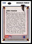 1991 Upper Deck #638  Erric Pegram  Back Thumbnail