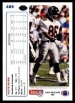 1991 Upper Deck #485  Floyd Dixon  Back Thumbnail
