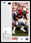 1991 Upper Deck #428  Luis Sharpe  Back Thumbnail