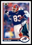 1991 Upper Deck #43  Andre Reed  Front Thumbnail