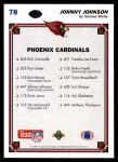 1991 Upper Deck #78   -  Johnny Johnson Arizona Cardinals-FB Team Back Thumbnail