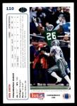 1991 Upper Deck #110  Ben Smith  Back Thumbnail