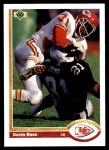 1991 Upper Deck #296  Kevin Ross  Front Thumbnail