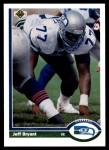 1991 Upper Deck #338  Jeff Bryant  Front Thumbnail