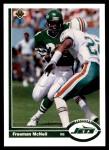 1991 Upper Deck #431  Freeman McNeil  Front Thumbnail