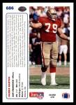 1991 Upper Deck #686  Harris Barton  Back Thumbnail