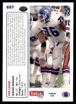 1991 Upper Deck #697  Ken Lanier  Back Thumbnail