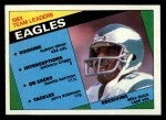 1984 Topps #325   Eagles Leaders Front Thumbnail