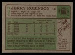 1984 Topps #334  Jerry Robinson  Back Thumbnail